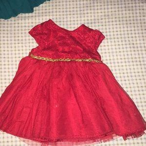 Vestido de niña de 24 meses .puesta una vez